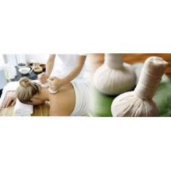 Massage aux ballotins...